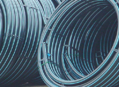 Water distribution PE pipes