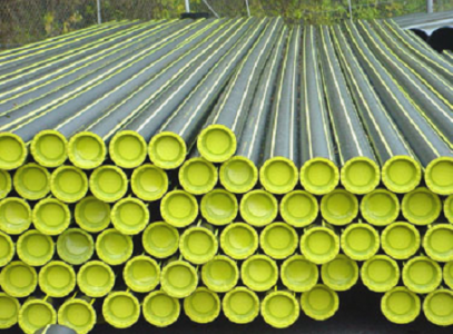 PE pipes for natural gas distribution