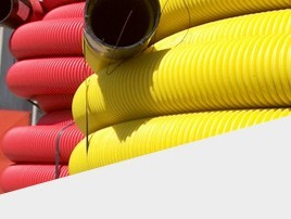 PE PIPES FOR THE PROTECTION OF TELECOMMUNICATION CABLES